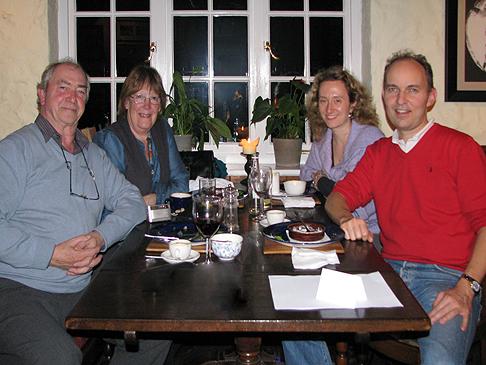 Ray, Maggie, Alessandra e Igino, novembre 2011.