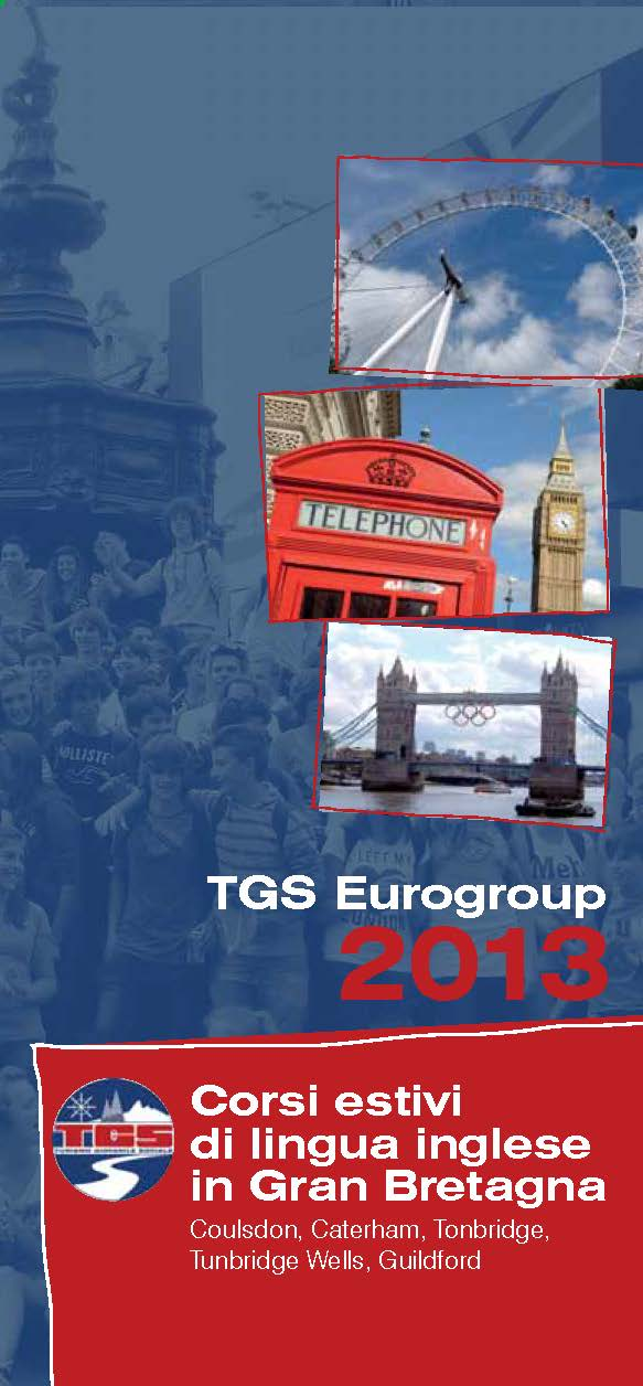 Depliant TGS 2013