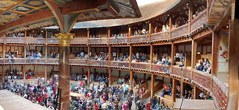 Shakespeare's Globe Theatre, London.