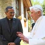 il Rettor Maggiore assieme al Papa