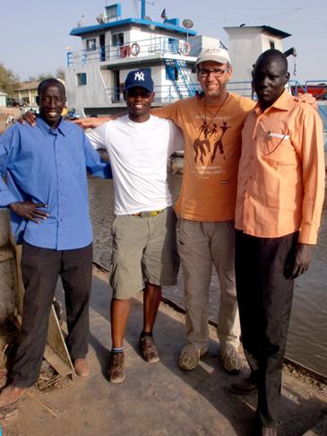 Don Filippo sul Nilo a Malakal