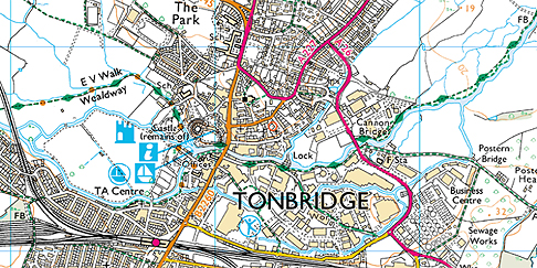 Tonbridge_OrdnanceSurveyMap