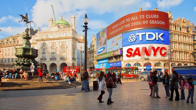 Appuntamento a Piccadilly Circus!