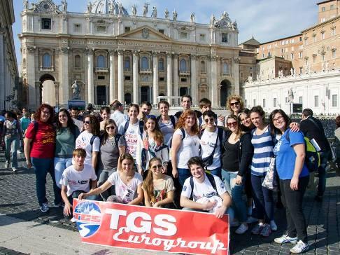 Corsa dei Santi 2013, Roma